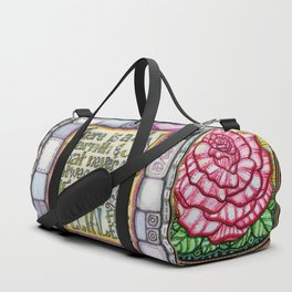 My Patchwork Friendship Squares Duffle Bag