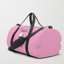 Proud To Be The Rainbow Sheep Of The Family Quote Duffle Bag