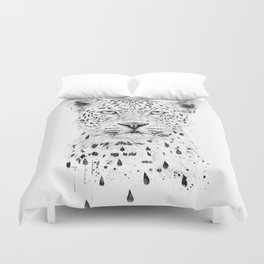 Raining again Duvet Cover