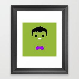 Don't make me angry Framed Art Print