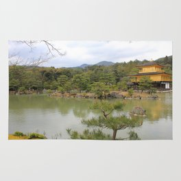 Kinkaku-Ji - The Golden Pavillion Rug