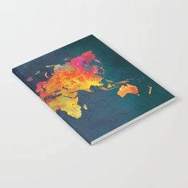 world map colors #map #maps #colors Notebook