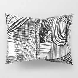 Overwhelmed Pillow Sham