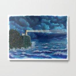Split Rock Lighthouse, Duluth, MN Metal Print