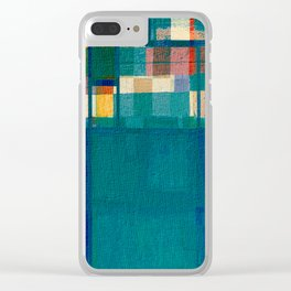 Olympic Diving Clear iPhone Case