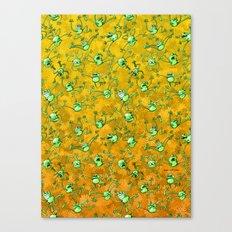 Frog Festival Canvas Print