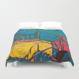 "Celebrations #society6 #decor #buyart  36"" x 64"" Oil on hand stretched canvas Duvet Cover"