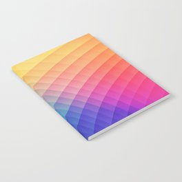 Spectrum Bomb! Fruity Fresh (HDR Rainbow Colorful Experimental Pattern) Notebook