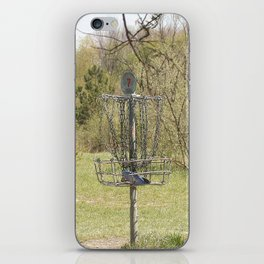 Brown Park Disc Golf Course iPhone Skin