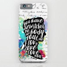 Mr.Darcy - I Love You iPhone 6 Slim Case