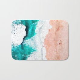 Beach Illustration Bath Mat