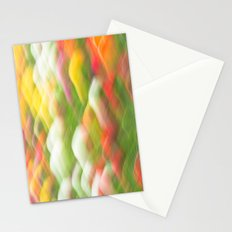 Tulip Field Abstract - Holland Michigan Stationery Cards