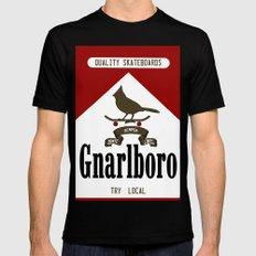 Gnarlboro Mens Fitted Tee Black MEDIUM