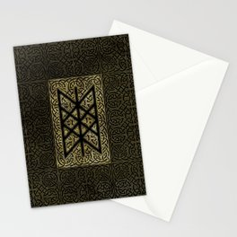 Web of Wyrd  -The Matrix of Fate Stationery Cards