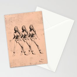 Raquel Welch in Triplicate Stationery Cards