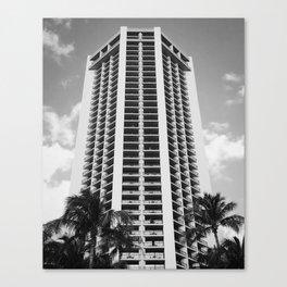 Waikiki Hustle Canvas Print