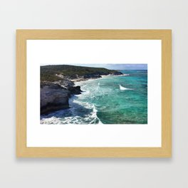 So Much of the World to See Framed Art Print