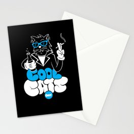 Cool Cats Only Stationery Cards