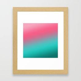 havanese gradient Framed Art Print