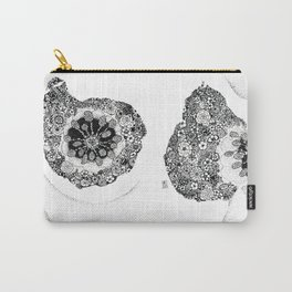 Anatomy Series: Breast Flowers Carry-All Pouch