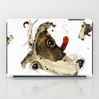 jack russell iPad Cases featuring Jack Russell by ari-s