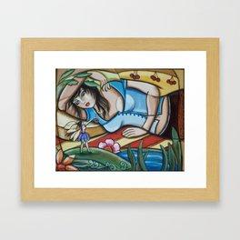 Waking in Fairy Land Framed Art Print