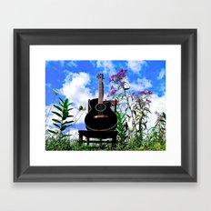 Music & Nature Framed Art Print