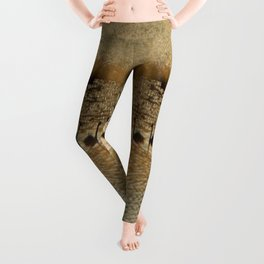 Canada Geese on Golden Pond Leggings