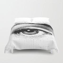 Lina Cavalieri Eye 01 Duvet Cover
