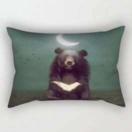 my light in the darkness Rectangular Pillow