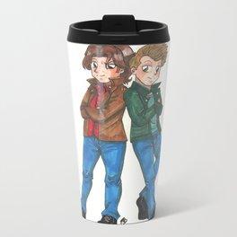 Supernatura Sam and Dean Winchester Travel Mug