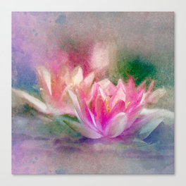 Waterlilly Canvas Print