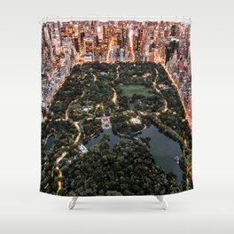 Central Park New York Shower Curtain