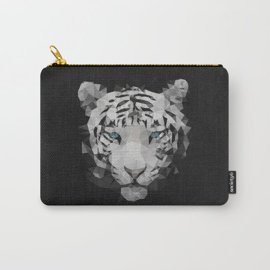 Meduzzle: White Tiger Carry-All Pouch