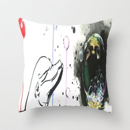 Fuku...ahhshit Throw Pillow