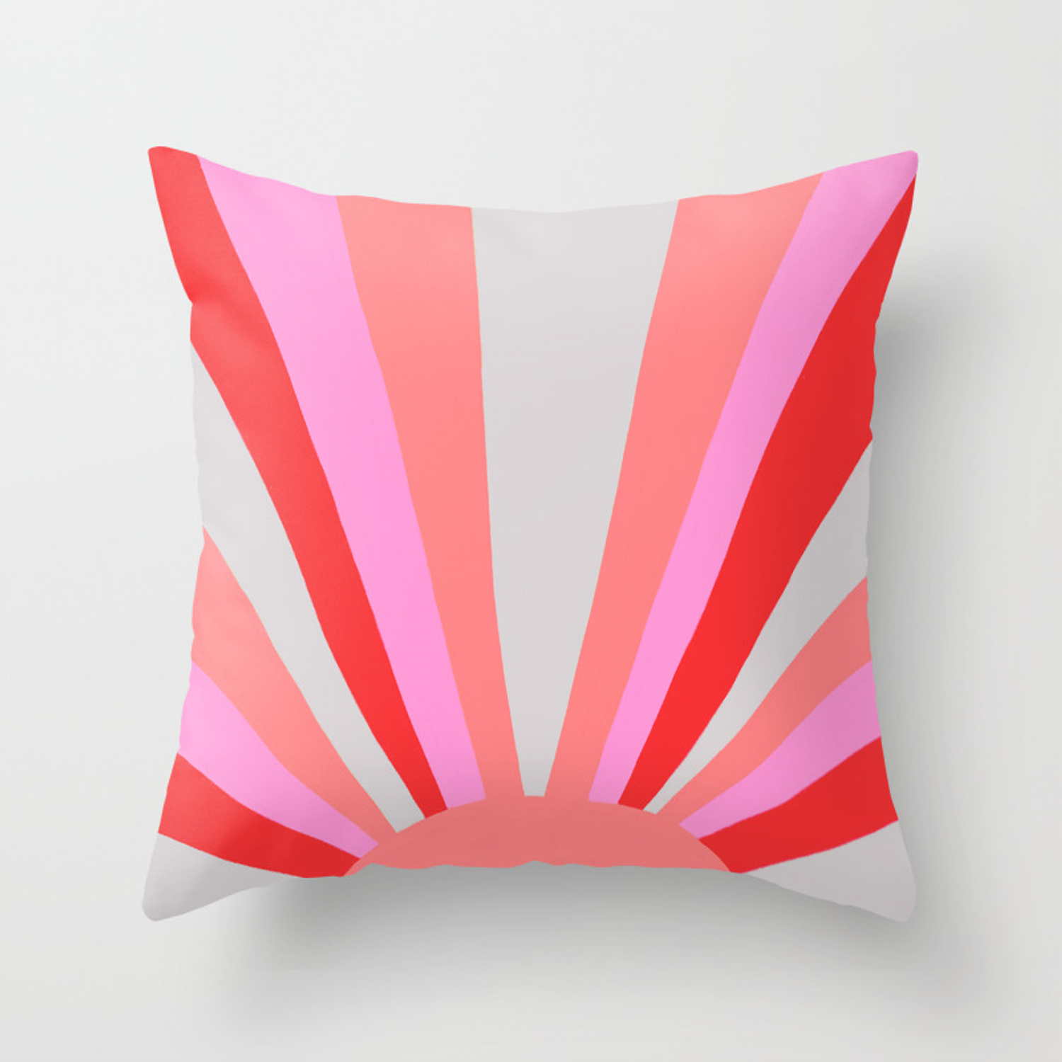 Picture of: Sunshine State Coral Throw Pillow By Sunshinecanteen Society6