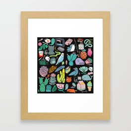 Various Objects III Framed Art Print