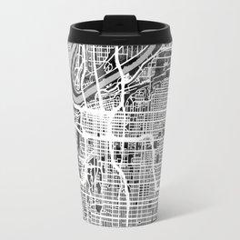 Kansas City Missouri City Map Travel Mug