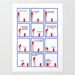 Le plus grand et le plus petit et le défi - page 2/4 Art Print