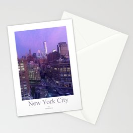 Moonlight City, 2nd Edition, NYC Stationery Cards