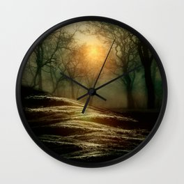 From small beginnings and big endings. by Viviana González Wall Clock