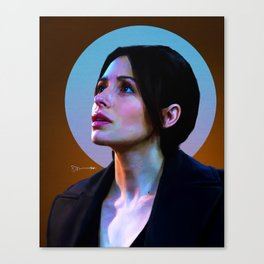 Sameen Shaw - Person of Interest Canvas Print