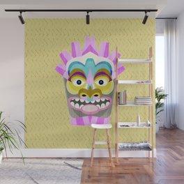 Aloha Tiki Mask Wall Mural