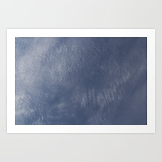 High Cloud Art Print