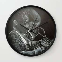 François Hadji-Lazaro Wall Clock
