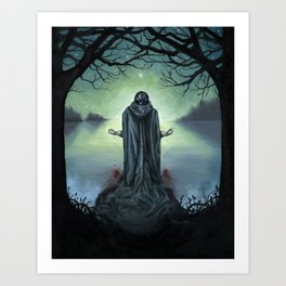 The Promise of Death Art Print