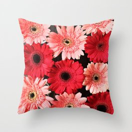 Pink x Red Throw Pillow