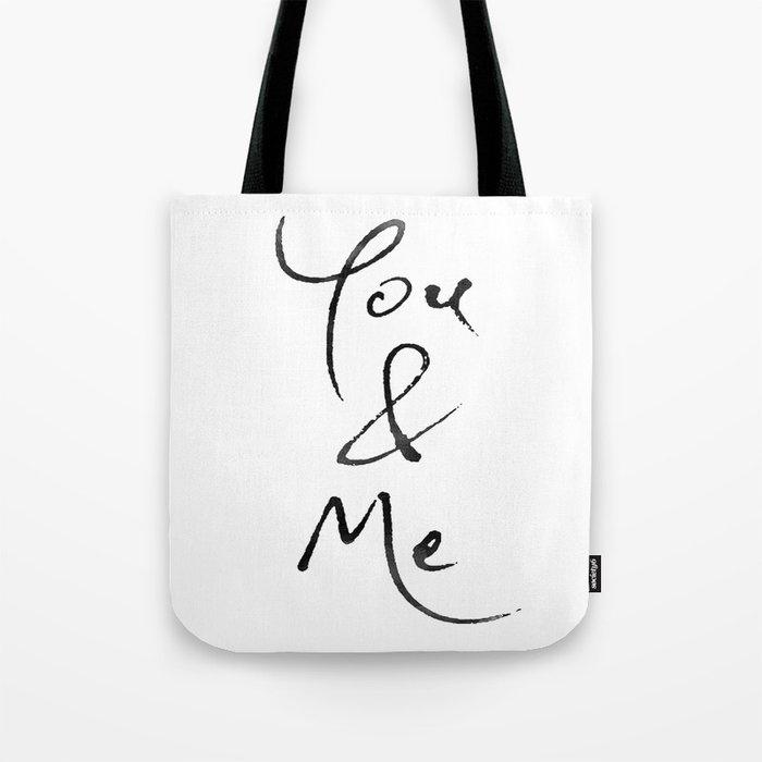 You & Me Tote Bag