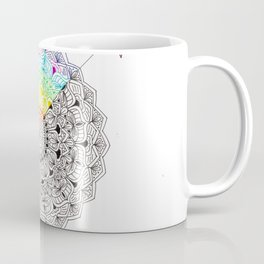 Inside I'm A Rainbow Coffee Mug