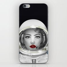 Space Lady iPhone & iPod Skin
